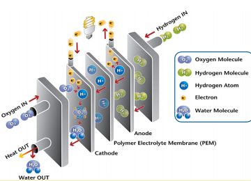 How fuel cell work to produce electricity