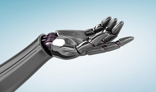 Graphene elastomer can use to make highly sensitive robot or prosthetic hands