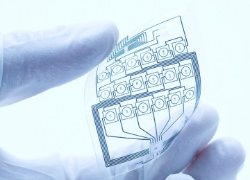 Graphene ink used to make flexible electronics parts and circuits