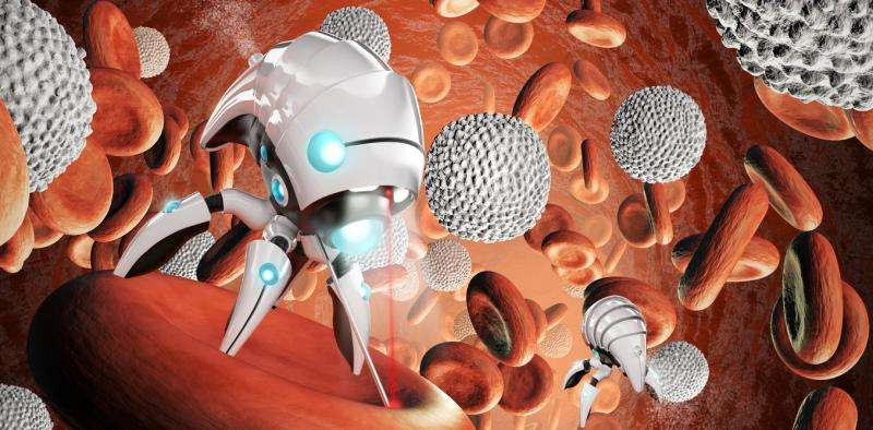 Graphene engine for nanorobots makes medical revolution