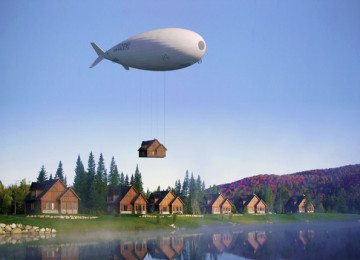 Graphene airship becomes the future heavy-weights transporter