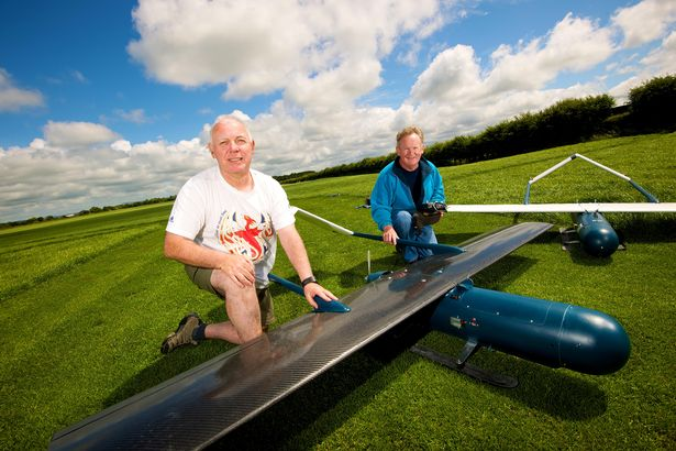 Scientists test first Graphene plane prototype (source: UCLan)