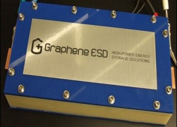 Canadian company presents prototype graphene supercapacitor battery