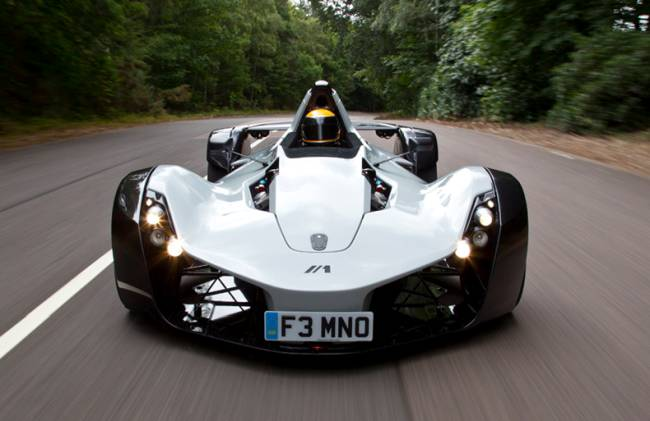 Unveiled the world's first graphene car in Manchester