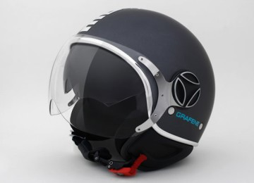 The first graphene motorcycle helmet has launched