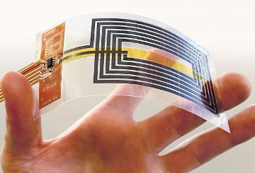 Graphene NFC full flexible and suitable to wearables