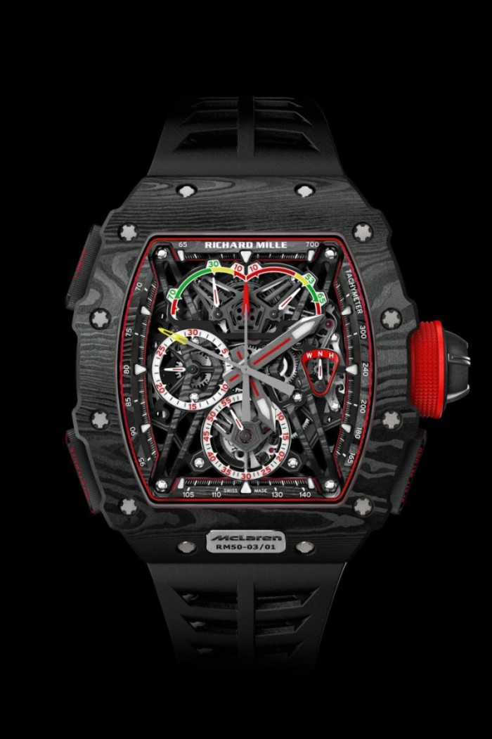 McLaren's graphene watch wonderful but so expensive