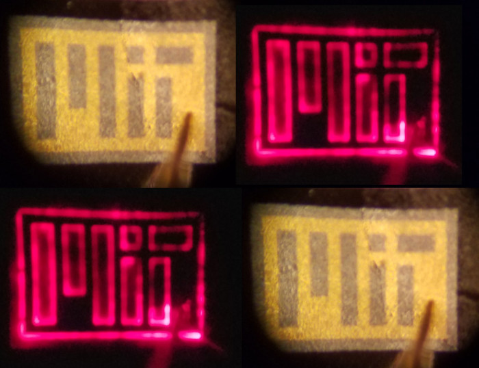 An example of Graphene 'copy machine' shows LEDs grown on graphene and then peeled.
