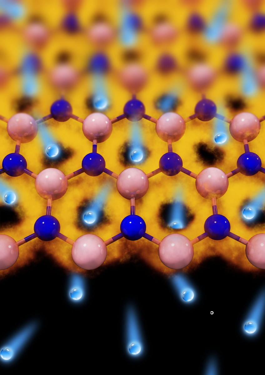 Graphene membrane acts as a super fine sieve for hydrogen isotopes, it's over one hundred times compared with current technologies